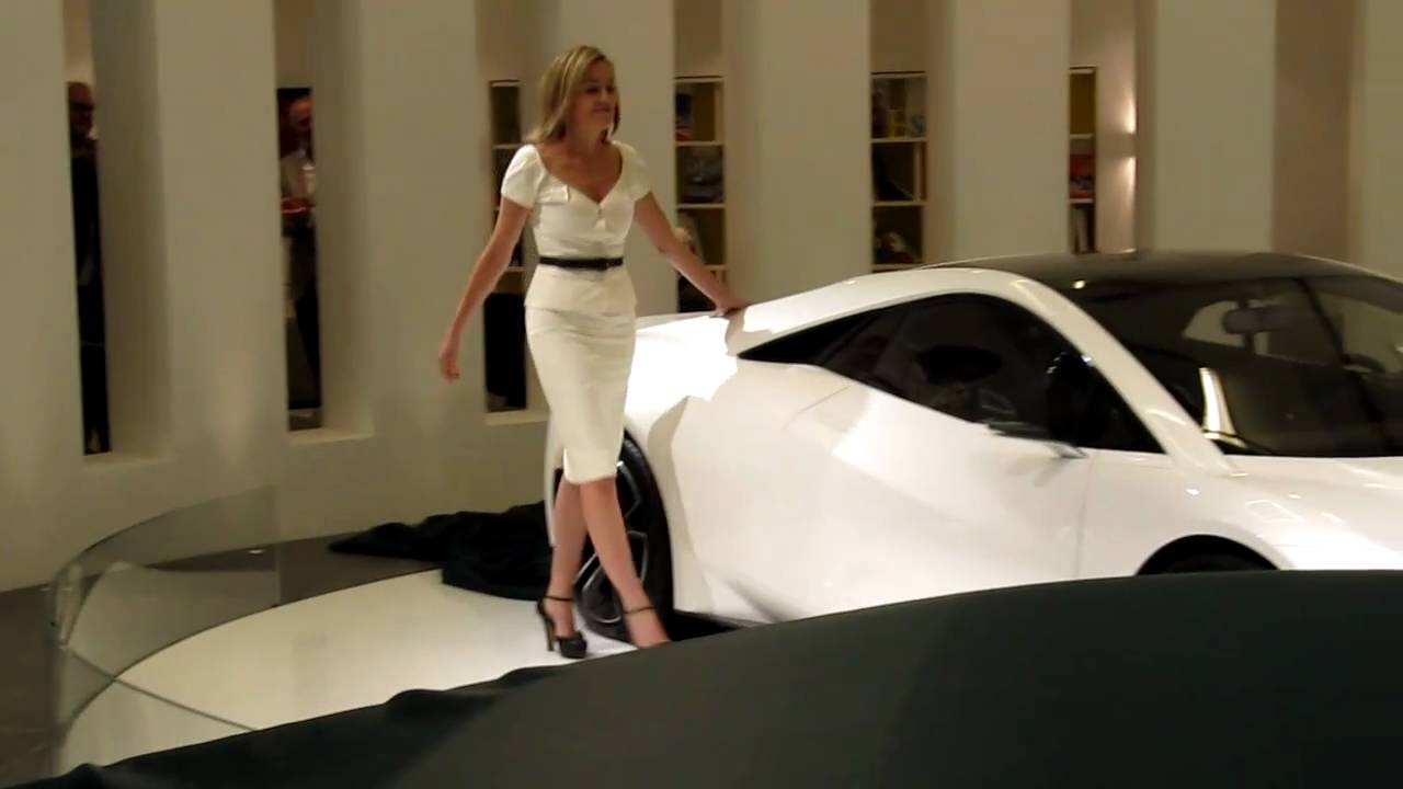 Esprit New Sharon Stone Unveils The New Lotus Esprit
