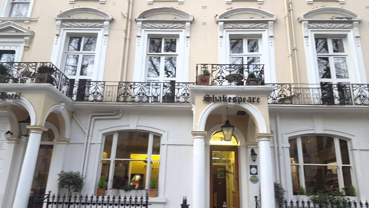 Shakespeare Hotel Paddington London Paddington London Hotels Youtube