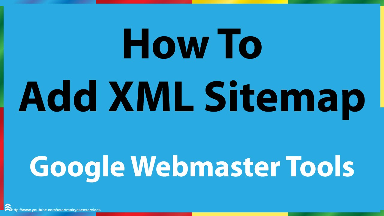 how do i add an xml sitemap to google search console youtube