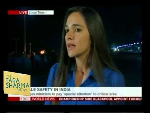 Tara Sharma On Female Safety In India - BBC Interview