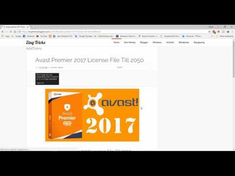 Download Avast Premier 2017 Full Crack Avast Premier 2018 Youtube