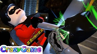 #LEGO #Batman 3 Beyond Gotham 100% Guide #2 Batcave Battle (All Collectibles  Android, iOS)
