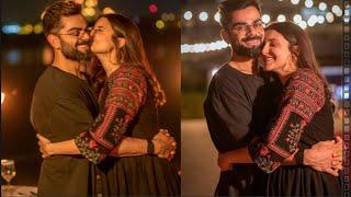 Anushka Sharma Shared Glimpse of Virat Kohli`s Birthday ;she shower love by cuddle in Blackout Fits!