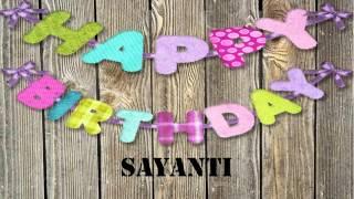 Sayanti   wishes Mensajes