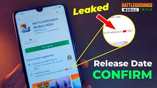 Release Date Leaked Battlegrounds Mobile India   battleground mobile India release date   Trailer