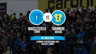 Goals: Macclesfield v Tranmere (26/12/15)