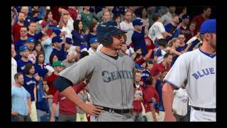 MLB 16 The Show - Blue Jays franchise -  ALDS Game 1 - Mariners Vs. Blue Jays  - (56)  part 2