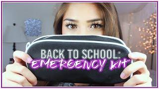 DIY Back to School EMERGENCY Kit ♡ School Essentials! ♡ xlivelaughbeautyx