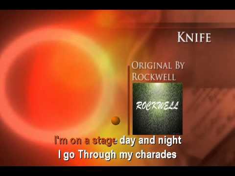 Rockwell - Knife (Karaoke)