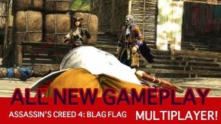 Assassin's Creed Iv: Black Flag   Multiplayer Gameplay Debut   Discovery & Unleashed Revealed