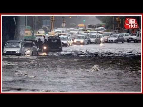 Delhi NCR में सुबह-सुबह मूसलाधार बारिश ने मचाई आफत