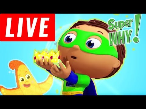 🔴 LIVE Super Why Compilation - Goldilocks And The Three Bears - Cartoons for Children