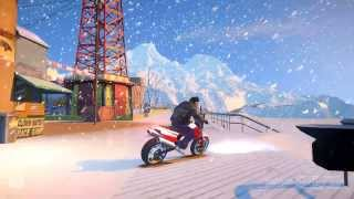 GTA IV  Snow Day Drift Bike