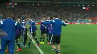 Xem lại loạt penalty cân não giữa hai đội Hà Lan và Argentina năm 2014