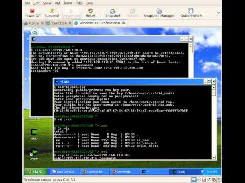 Cygwin: Using Ssh Keys (part 2)