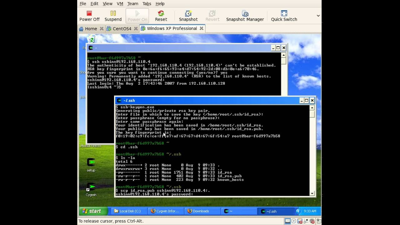 ssh-keygen windows 8