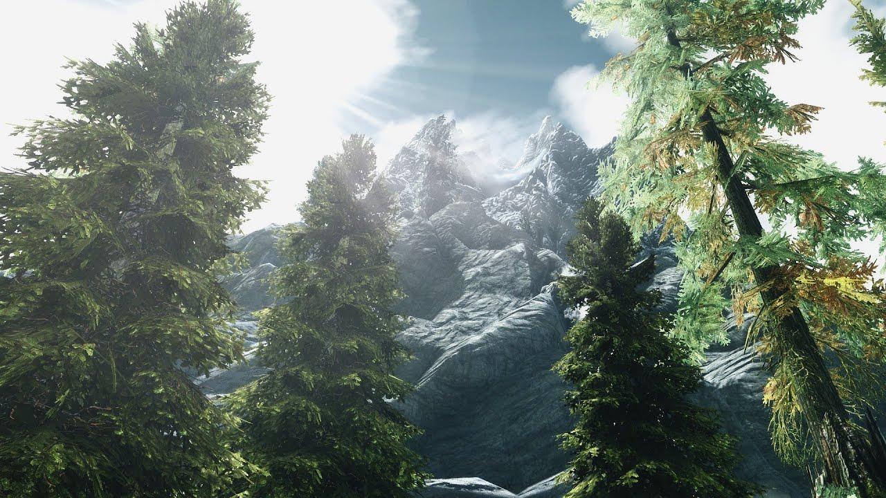 SKYRIM IN 4K (Rendered in 4K) - ULTRA GRAPHICS MODDED - YouTube
