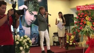 Part 1 - [Họp Báo] Ra Mắt Album: Chạy Đi ! Anh Yêu Em - Phạm Trưởng (FANCAM - Full HD)
