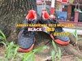 adidas Barricade 2015 Black/Red Men's Shoe Review