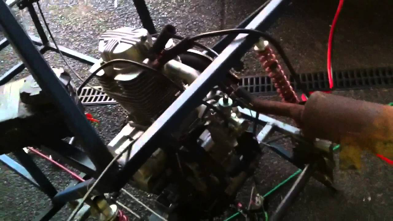 CG250 Engine Idle and Revving - YouTube