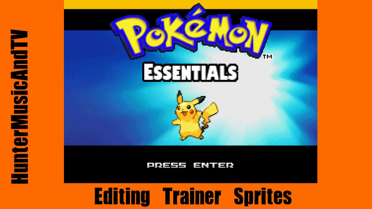 Pokemon Essentials - Editing Character Sprites