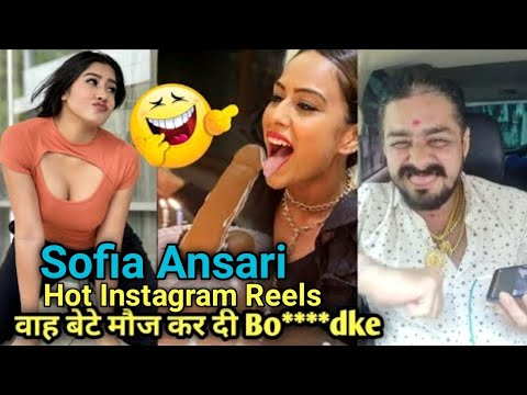 Download Sofia Ansari all Hot👙😳 Instagram Reels Video 2021 #CarryShorts