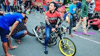 ALVAN CEBONK setting DRAG Bike Liar