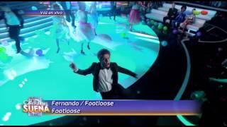 Fer Dente es Footloose - Tu Cara Me Suena 2014
