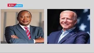 Biden applauds Kenya's leadership in first phone call with President Uhuru Kenyatta