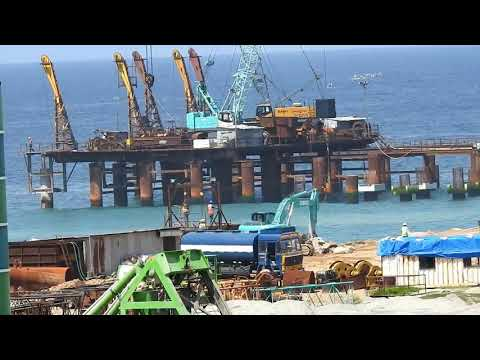 Mega Project - Vizhinjam Sea port construction