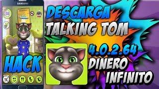 DESCARGA MI TALKING TOM - 4.0.2.64 [ APK MOD ] DINERO Y DIAMANTES INFINITOS   2017 