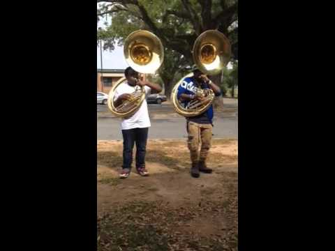 AHS (Albany) tubas custom call out