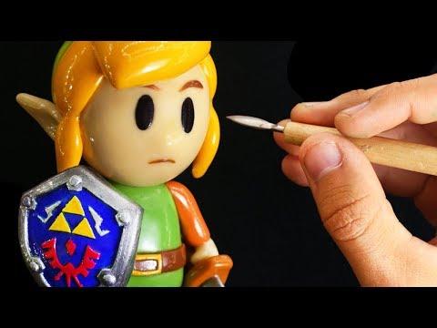 SCULPTING LINK l Zelda Link's Awakening ★ POLYMER CLAY TUTORIAL