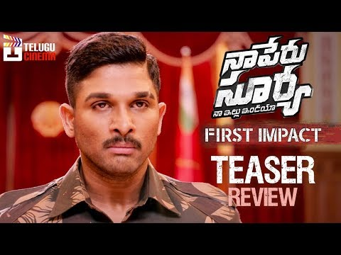 Naa Peru Surya Naa Illu India First Impact...