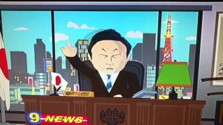 South park funny Asian.