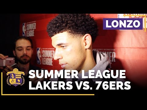 Lakers Summer League: Lonzo Ball After Dropping 36 Points In Best Game Yet