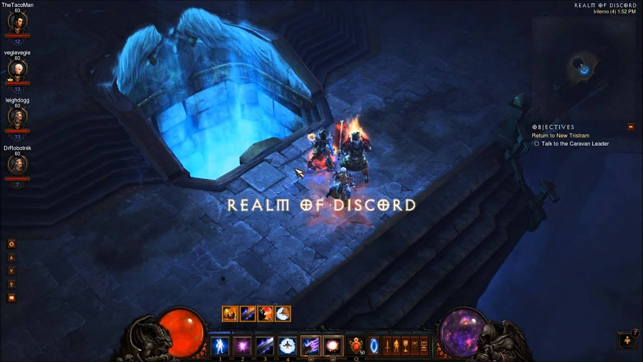 D3 reaper of souls: keywardens, infernal machines, and hellfire.
