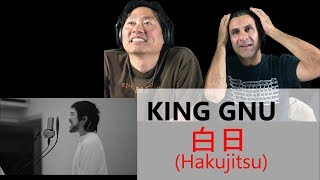 Cover images Reaction - King Gnu - 白日