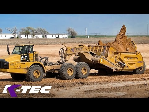 Big Texas Earthmoving Job