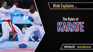 The Rules of Karate (WKF) - EXPLAINED!