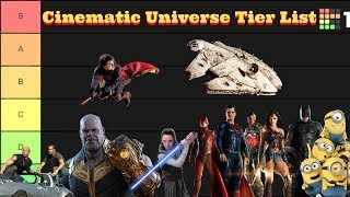 The Cinematic Universe Tier List