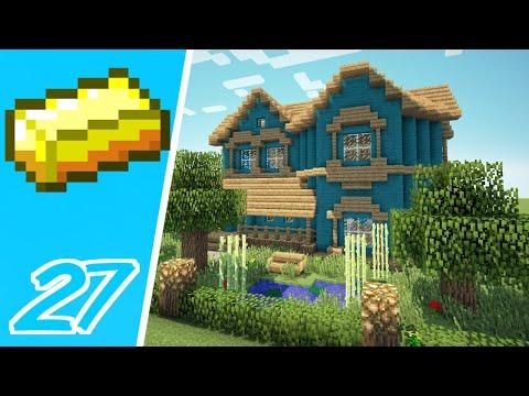 Dansk Minecraft - Pengebyen #27: VORES DRØMMEHUS!!