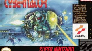 CGRundertow CYBERNATOR for Super NES Video Game Review