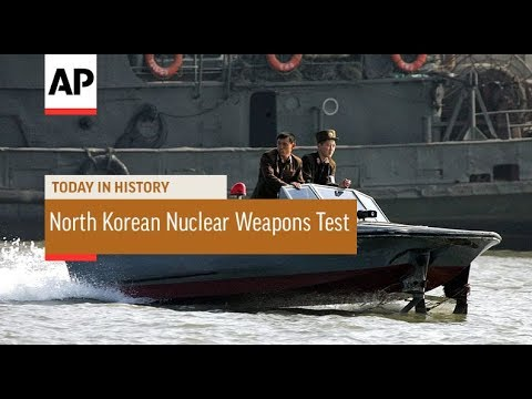 First North Korean Nuclear Weapons Test - 2006 | Today In History | 9 Oct 17