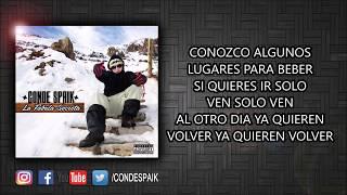 15 - Conde Spaik - Conozco Lugares Ft. Dj Racso (Official Lyric Video)
