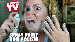 SPRAY PAINT NAIL POLISH- DOES THIS THING REALLY WORK?(GET MY BOOK HERE: http://bit.ly/1gZ1IxO NEW SWAMP FAMILY STORE- http://www.swampmerch.com ..., 2016-03-06T16:00:01.000Z)