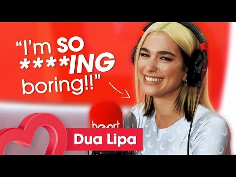 Dua Lipa Talks Her NEW  Social Media and Her Fear of Toes 🦶🤣    Heart