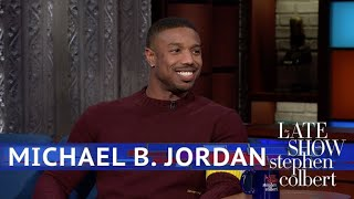 Michael B. Jordan Kept A Killmonger Diary