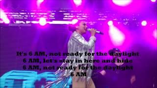 """Medina - """"6 AM"""" (Lyrics)"""