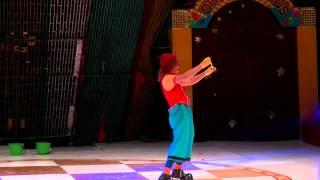 Payaso Chileno Yogual. Fran Cardenas del Circo Chileno